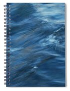 A River Flows Gently By Spiral Notebook