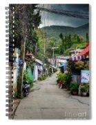 A Road Spiral Notebook
