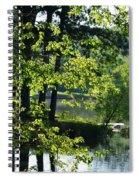 A Roadside View Spiral Notebook