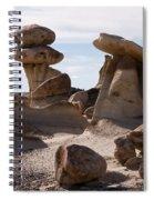 A Rock Garden Spiral Notebook