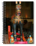 A Rocking Horse Of Many Colors Spiral Notebook