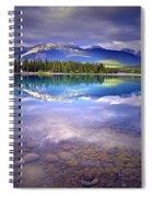 A Rocky Sunset Spiral Notebook