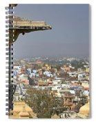 A Room With A View.. Spiral Notebook