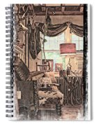 A Room With An Invitation Spiral Notebook