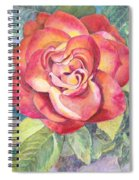 A Rose For Mom Spiral Notebook