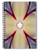 A Rose Thorns And All Mandala Yantra Spiral Notebook