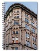 A Round The Corner Spiral Notebook