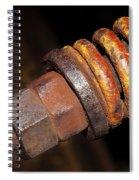 A Rusty Spring Spiral Notebook