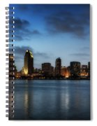 A San Diego Evening Spiral Notebook
