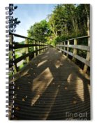 A Scattering Of Leaves Spiral Notebook