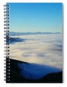 A Sea Of Fog  Spiral Notebook