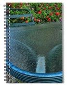 A Sea Of Zinnias 03 Spiral Notebook