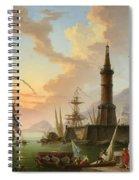 A Seaport Spiral Notebook
