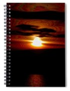 A Shimmer Off The Water Spiral Notebook