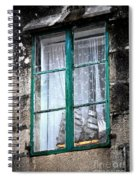 A Ship In The Green Window Spiral Notebook