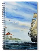 A Ship There Is Spiral Notebook
