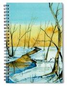 A Sign Of Winter Spiral Notebook