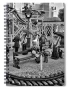 A Simpler Way Of Life Sunday Morning Spiral Notebook