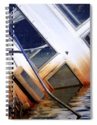 A Sinking Feeling Spiral Notebook