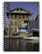 A Slightly More Run Down Section Of The Dal Lake Spiral Notebook
