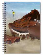 A Slow Death In Piano Valley - Panoramic Spiral Notebook