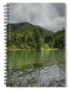 A Small Island Spiral Notebook