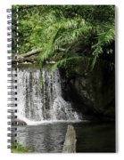 A Small Waterfall Spiral Notebook