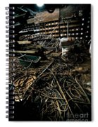 A Snake Pit Of Wires Spiral Notebook