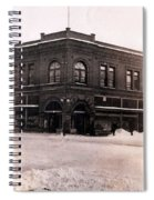 A Snow Day Spiral Notebook