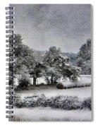 A Snowy Day Spiral Notebook