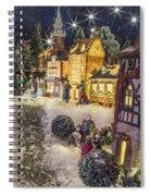 A Snowy Evening Spiral Notebook