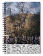 A Snowy Night Spiral Notebook