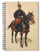 A Soldier Cavalerie Spiral Notebook