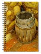 A Sole Barrel Spiral Notebook