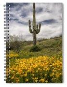 A Southwestern Style Spring Spiral Notebook