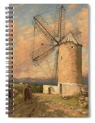 A Spanish Mill Spiral Notebook