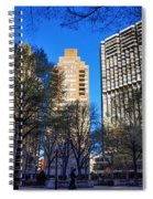 A Spring Day At Rittenhouse Square Spiral Notebook