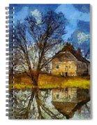 A Spring Flood Spiral Notebook