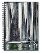 A Spring That Knows No Summer. Spiral Notebook