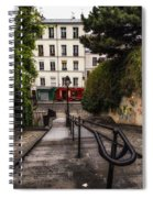 A Spring Walk In The City Spiral Notebook