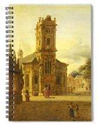 A Square Before A Church Spiral Notebook