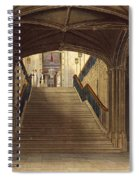 A Staircase, Windsor Castle, From Royal Spiral Notebook