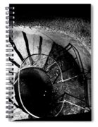 A Stairwell In The Catacombs Of Paris France Spiral Notebook