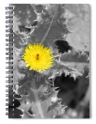 A Sticky Flower Spiral Notebook
