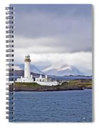 A Storm And The Lighthouse Spiral Notebook