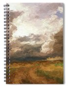 A Stormy Day Spiral Notebook