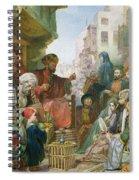 A Street In Cairo Spiral Notebook