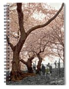 A Stroll In Central Park Spiral Notebook
