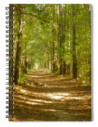 A Stroll In The Park Spiral Notebook
