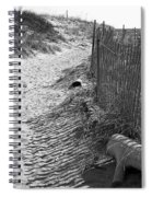 A Stroll In The Sand Spiral Notebook